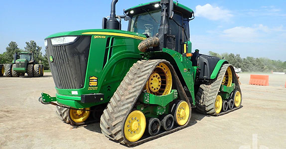 Track Tractor sold at Ritchie Bros.